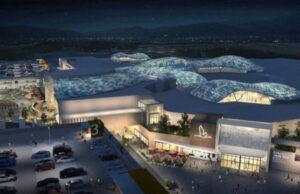 Многофункциональный торговый комплекс обновленный Ле Гру