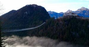Тибетский мост в Пьемонте Италия