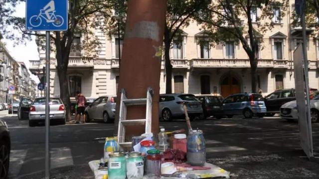 Италия память Джоржа Флойда Турин