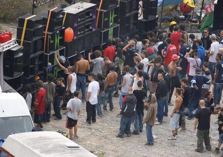 Рейв вечеринка в Турине
