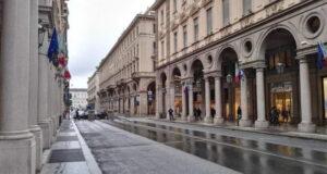 Новые пешеходные улицы Турина