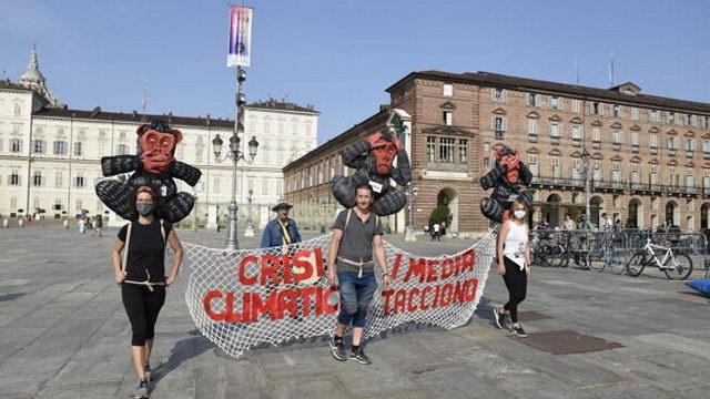 Борьба за климат Турин Италия