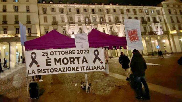 Уличная война в Турине, рестораны возмущены закрытием баров в 18 часов