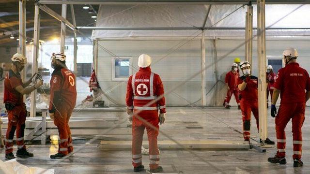 Турине закрыли антиковидную больницу из-за отсутствия пациентов