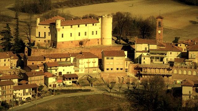 Замки и дворцы Пьемонта все красоты осенью