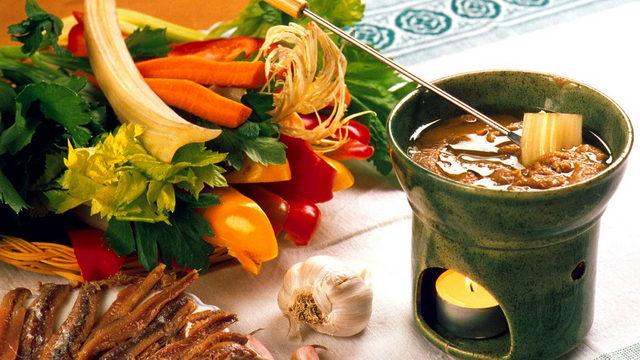 Банья Кауда кухня пьемонта 15 пьемонтских блюд
