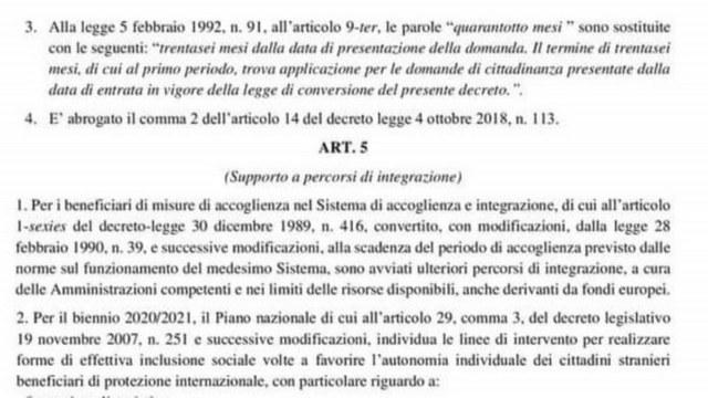 36 месяцев с даты подачи заявления», а не 48 Итальянское гражданство новый закон