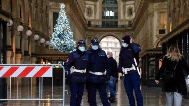Новый год в красной зоне запрета в Италии