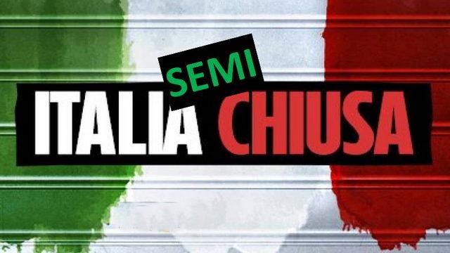 Италия в красной зоне на новый год и рождество