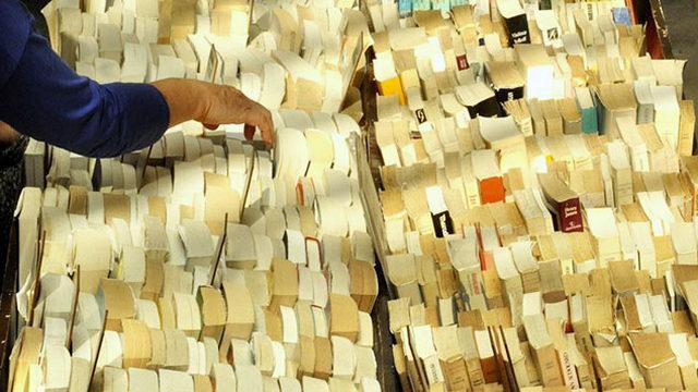 Il Libro Ritrovato книжный рынок в Турине