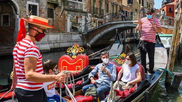 Мир итальянского туризма во времена изоляции созданной властями