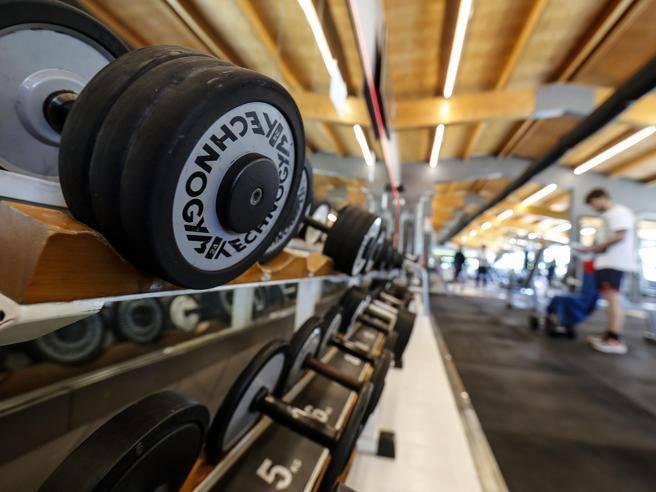 Открытие спортзалов в Италии