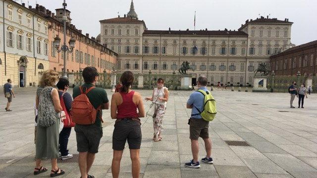 Мой первый раз в Турине экскурсия в гидом